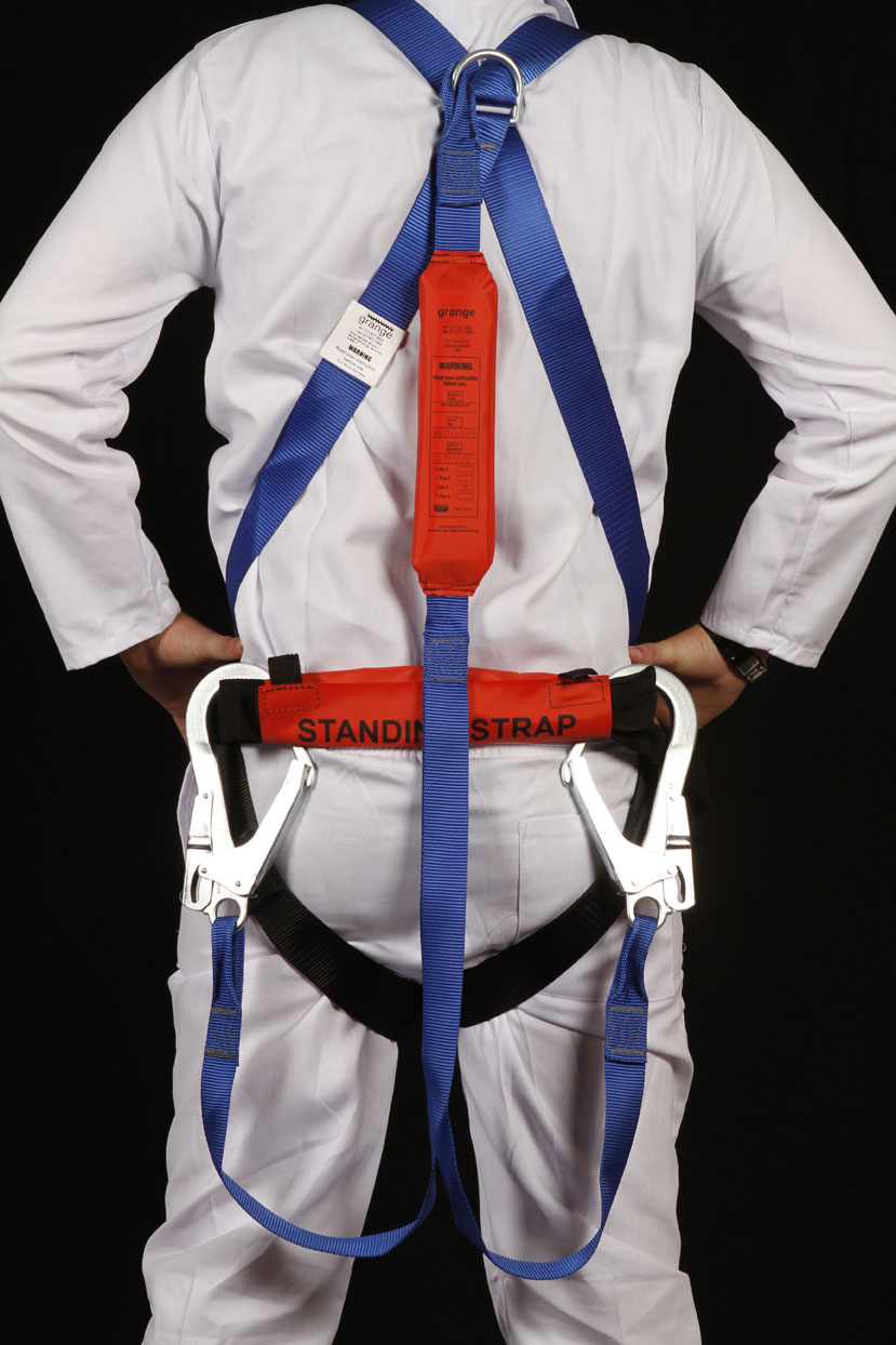 how to put on a full body harness